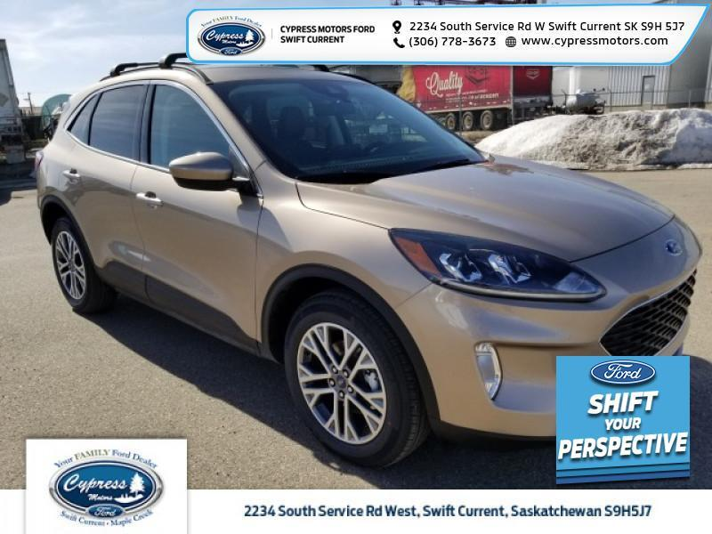 2021 Ford Escape SEL Hybrid  - Heated Seats - $243 B/W Swift Current SK
