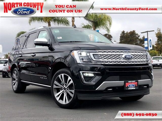 2021 Ford Expedition Max Platinum San Diego County CA