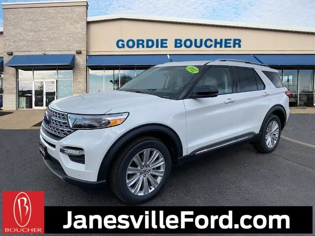 2021 Ford Explorer Limited Janesville WI