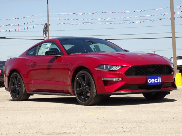 2021 Ford Mustang EcoBoost  TX