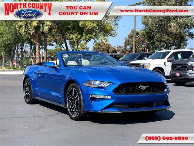 2021 Ford Mustang EcoBoost Premium San Diego County CA