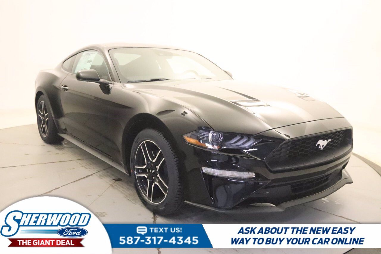 2021 Ford Mustang EcoBoost Sherwood Park AB