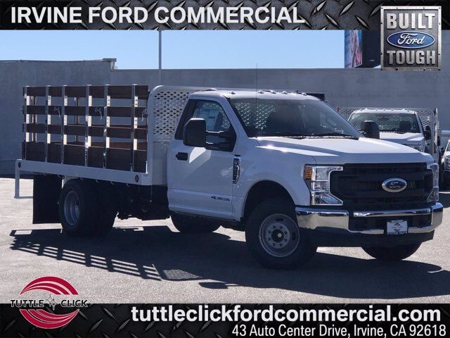 2021 Ford Super Duty F-350 DRW XL Scelzi 12' Stake Bed Diesel Irvine CA