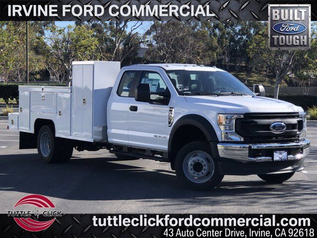 2021 Ford Super Duty F-550 DRW XL Scelzi Welder Body Diesel Irvine CA