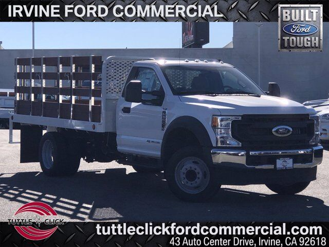 2021 Ford Super Duty F-550 DRW w/ 12' Stake Bed XL Irvine CA