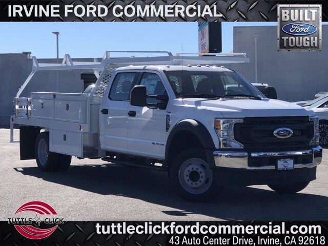 2021 Ford Super Duty F-550 DRW w/ Scelzi 12' Contractor Bed XL Irvine CA