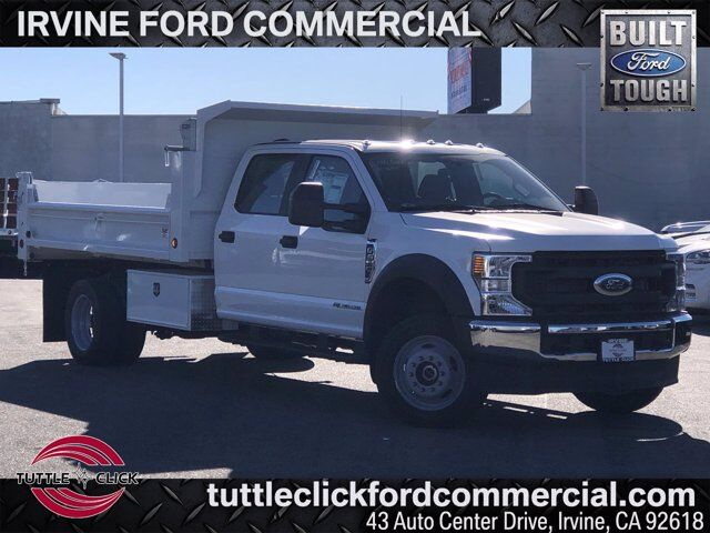 2021 Ford Super Duty F-550 DRW w/ Scelzi 12' Dump Bed XL Irvine CA