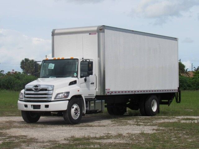 2021 Hino L6 26' Dry Freight Cargo Van with lift gate Homestead FL