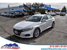 2021_Honda_Accord Sedan_LX 1.5T CVT_ El Paso TX