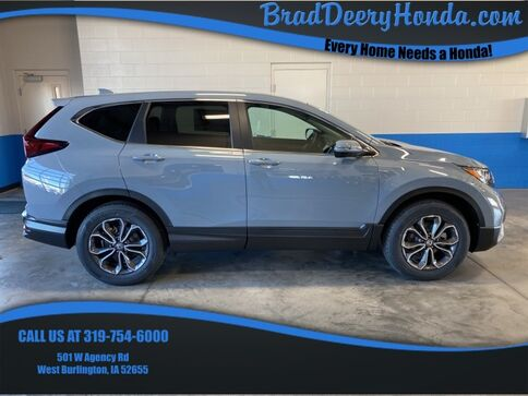 2021_Honda_CR-V_EX_ West Burlington IA