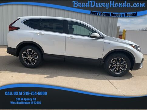 2021_Honda_CR-V Hybrid_EX_ West Burlington IA