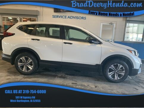 2021_Honda_CR-V_LX_ West Burlington IA