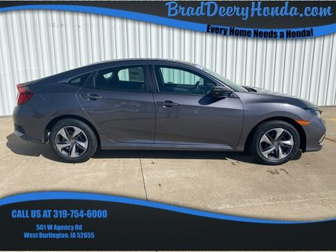 2021_Honda_Civic_LX_ West Burlington IA