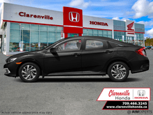 2021_Honda_Civic Sedan_EX  - Sunroof -  Remote Start - $176 B/W_ Clarenville NL