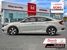 2021_Honda_Civic Sedan_LX   - DEMO!! w. Winter Tires/Rims!_ Clarenville NL