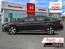 2021_Honda_Civic Sedan_LX   - DEMO! w. Winter tires/rims_ Clarenville NL