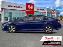 2021_Honda_Civic Sedan_LX  - Heated Seats -  Apple CarPlay - $169 B/W_ Clarenville NL
