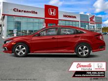 2021_Honda_Civic Sedan_LX  - Heated Seats -  Apple CarPlay - $171 B/W_ Clarenville NL
