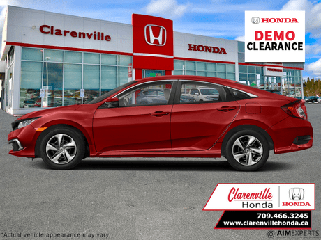 2021 Honda Civic Sedan LX  - Heated Seats -  Apple CarPlay - $180 B/W Clarenville NL