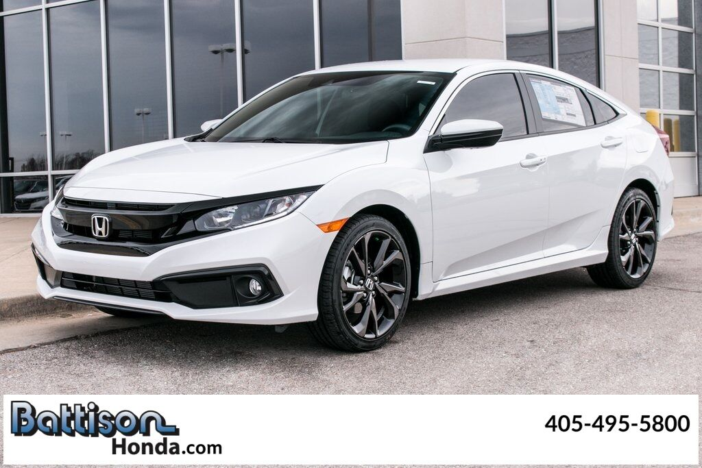 2021_Honda_Civic_Sport_ Oklahoma City OK