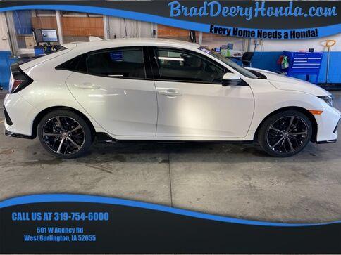 2021_Honda_Civic_Sport_ West Burlington IA