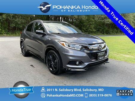 2021_Honda_HR-V_Sport ** Honda True Certified 7 Year / 100,000  **_ Salisbury MD