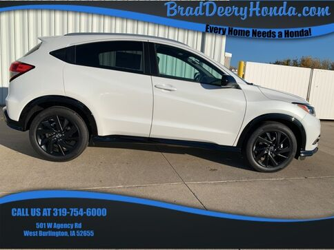 2021_Honda_HR-V_Sport_ West Burlington IA