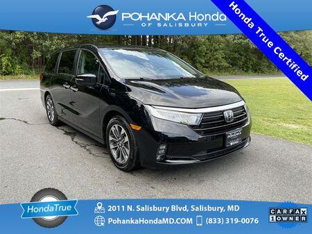2021_Honda_Odyssey_EX-L ** Honda True Certified 7 Year / 100,000  **_ Salisbury MD