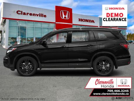 2021 Honda Pilot Black Edition  - Cooled Seats - $397 B/W Clarenville NL
