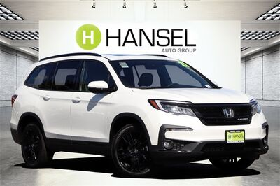 2021_Honda_Pilot_Black Edition_ Santa Rosa CA