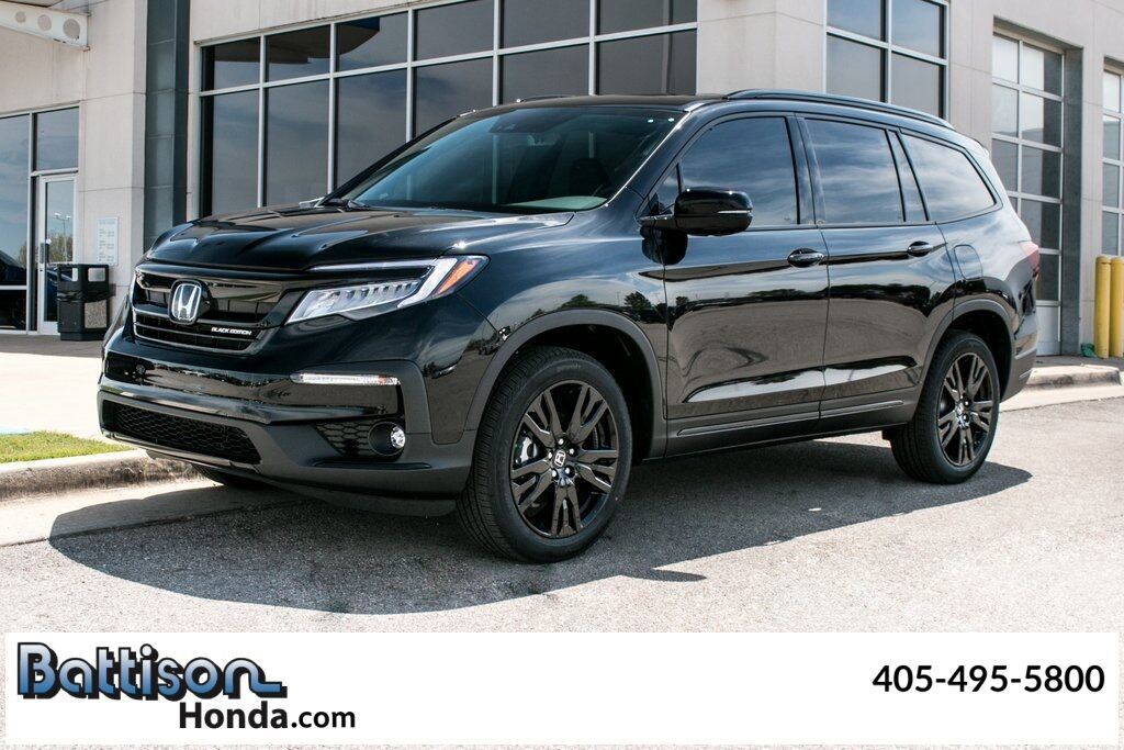 2021_Honda_Pilot_Black Edition_ Oklahoma City OK