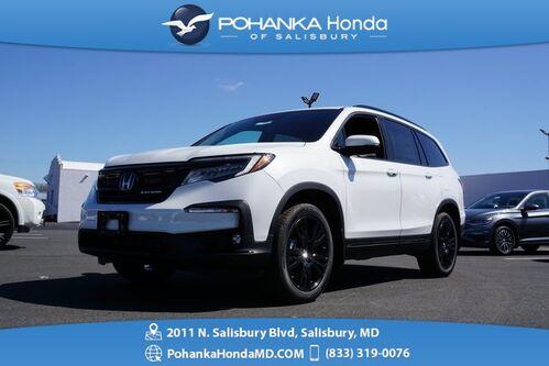 2021_Honda_Pilot_Black Edition_ Salisbury MD