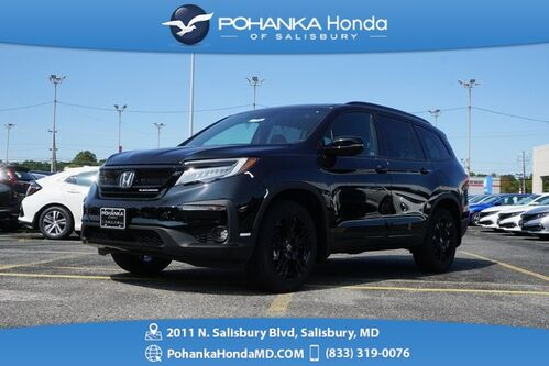 2021_Honda_Pilot_Black Edition_ Salisbury MD