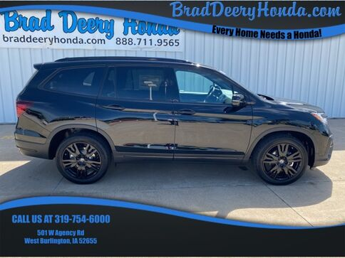 2021_Honda_Pilot_Black Edition_ West Burlington IA