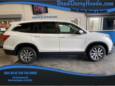 2021_Honda_Pilot_EX-L_ West Burlington IA