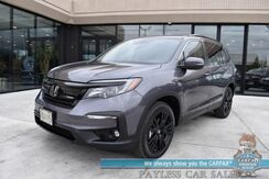 2021_Honda_Pilot_Special Edition / AWD / Auto Start / Power & Heated Leather Seats / Sunroof / Adaptive Cruise Control / Lane Departure & Blind Spot Alert / 3rd Row / Seats 8 / 26 MPG / Only 6k Miles / 1-Owner_ Anchorage AK