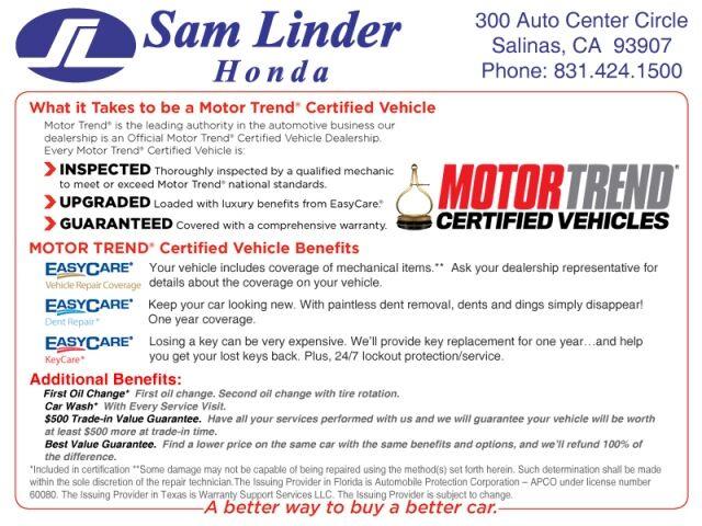 2021 Honda Ridgeline Sport AWD Salinas CA