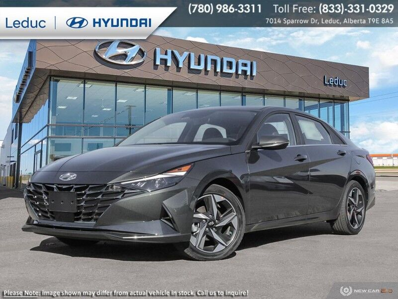 2021 Hyundai Elantra Ultimate w/Black Seats Leduc AB