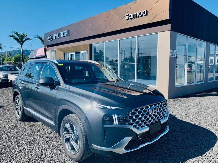 2021 Hyundai SANTA FE GLS 2.5L GASOLINE 4WD 6-SPEED AUTOMATIC TRANSMISSION 7-SEATER SUV Vaitele