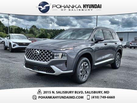 2021_Hyundai_Santa Fe Hybrid_Blue_ Salisbury MD