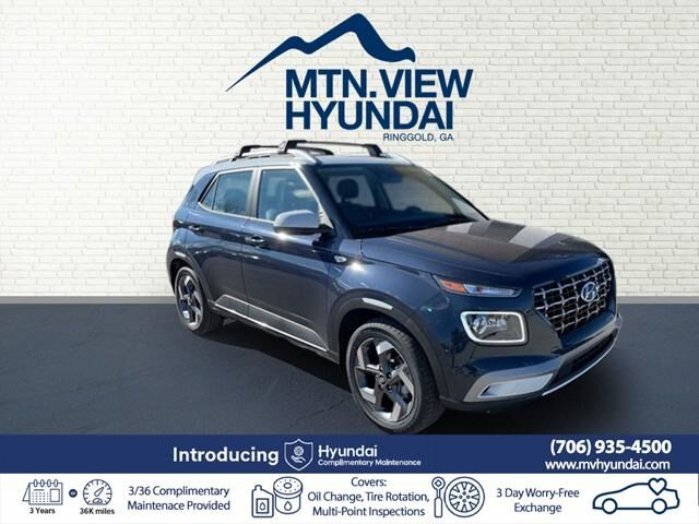 2021 Hyundai Venue Denim