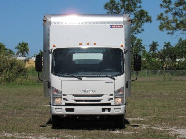 2021 Isuzu NPR 14' Dry Freight Box (Gas) Homestead FL