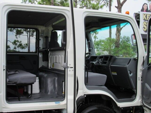 2021 Isuzu NPR-HD Crew Cab 16' Dry Freight Box (Gas) Homestead FL