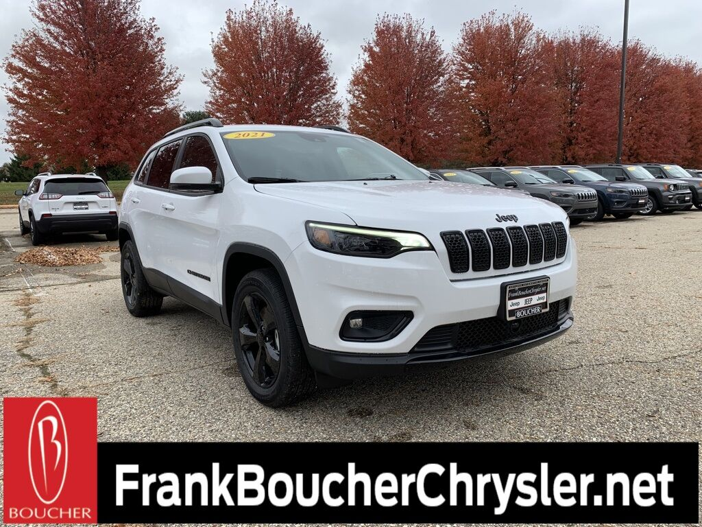 2021 Jeep Cherokee ALTITUDE 4X4 Janesville WI
