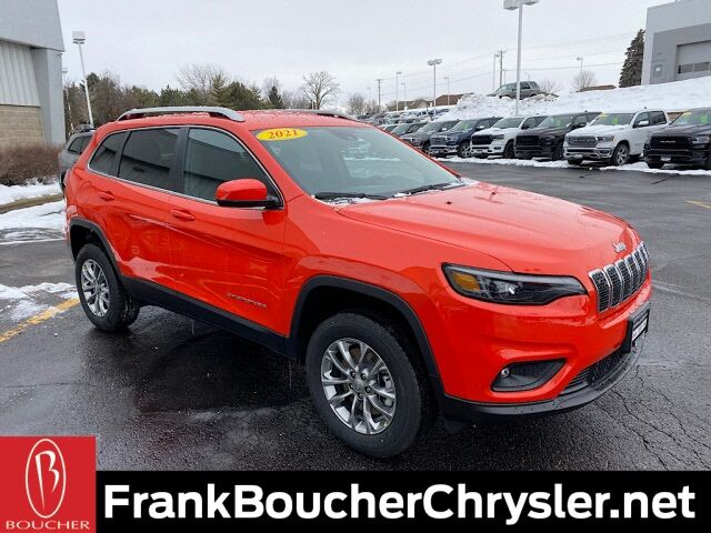 2021 Jeep Cherokee LATITUDE LUX 4X4 Janesville WI