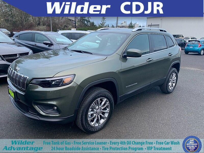 2021 Jeep Cherokee LATITUDE LUX 4X4 Port Angeles WA