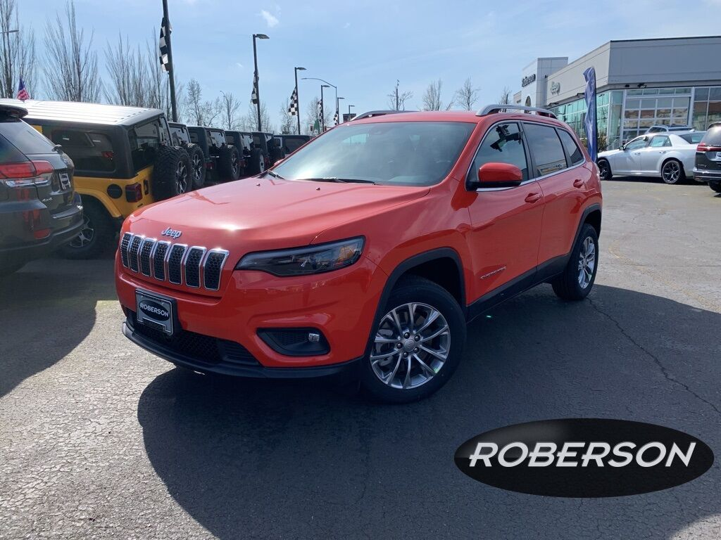 2021 Jeep Cherokee LATITUDE PLUS FWD 1C4PJLLB6MD183848