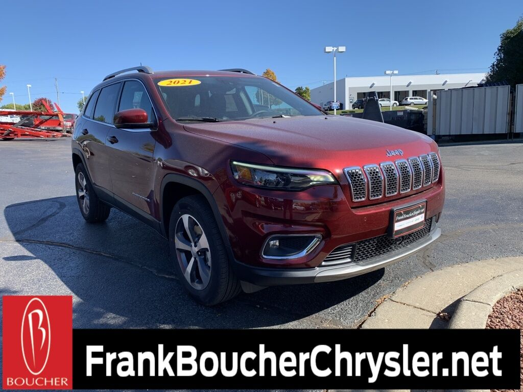 2021 Jeep Cherokee LIMITED 4X4 Janesville WI