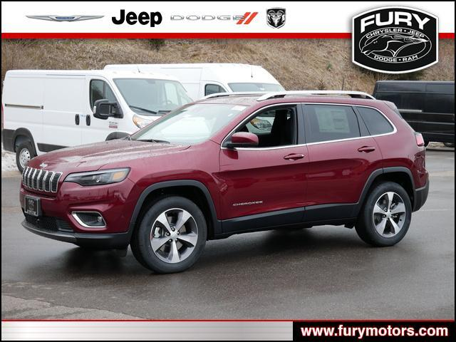 2021 Jeep Cherokee Limited 4x4 St. Paul MN