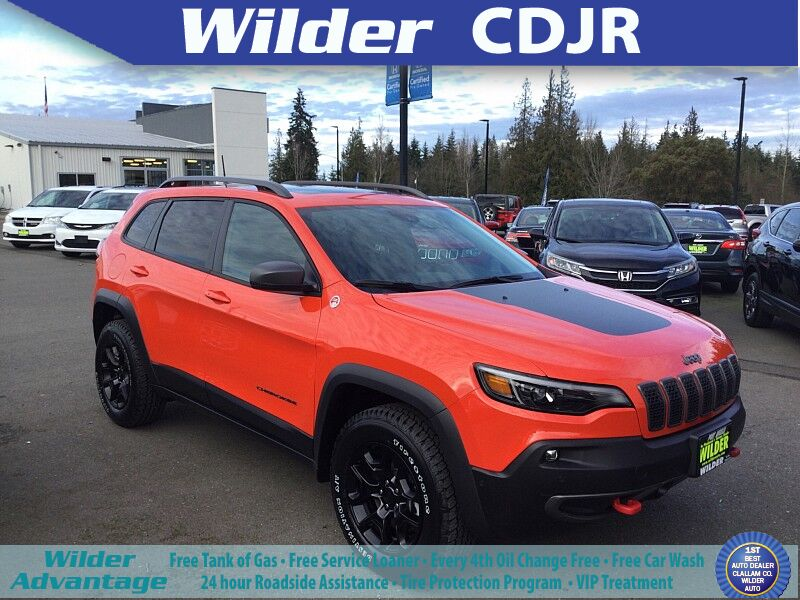2021 Jeep Cherokee TRAILHAWK 4X4 Port Angeles WA